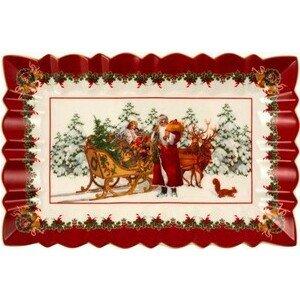 Kuchenplatte eckig Santa m. Sc Toys Fantasy Villeroy & Boch