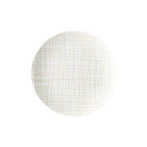 Teller flach 21 cm Mesh Line Cream Rosenthal