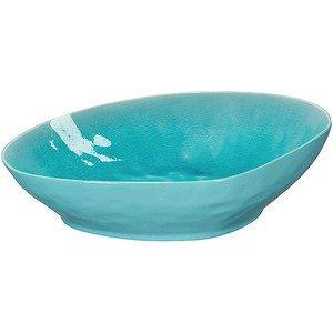 Schale flach 30 x 28 x 8,5cm A La Plage turquoise ASA