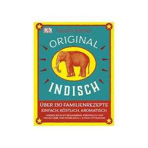 Buch: Original Indisch über 130 Familienrezepte DK Verlag