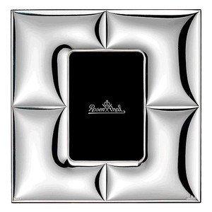 Rahmen/Lampe 9x13cm Silver Coll. Charge quadratisch Rosenthal