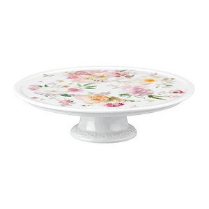 Platte auf Fuß 20 cm Blumen Maria Pink Rose Rosenthal