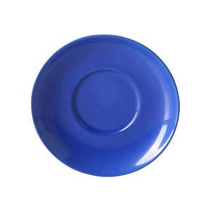 Cappuccinountertasse Solid Color Kornblume rund Dibbern