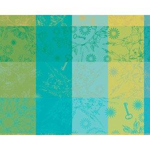 40x50 cm Tischset Mille Alcees Narcisse beschichtet Garnier Thiebaut