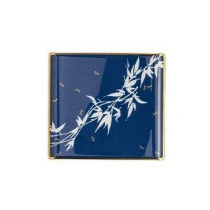 Platte flach 26x24cm Heritage Turandot blue Rosenthal