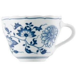 """Kaffee-Obertasse 210 ml rund """"Blau Zwiebelmuster"""" Hutschenreuther"""