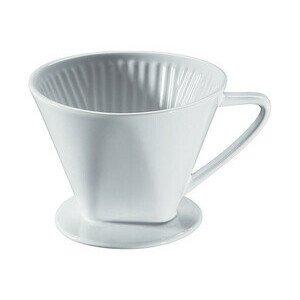 Kaffeefilter Größe 4 Keramik weiss glasiert Cilio
