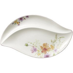 Servierteller 50,0 cm x 30,0 cm Mariefleur Serve & Salad Villeroy & Boch