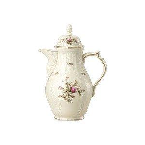Kaffeekanne Sanssouci Elfenbein Moosrose neu Poliergold Ramona Rosenthal