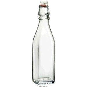 Glasflasche Swing mit Bügelverschluss 0,5 l Bormioli Rocco