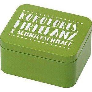 Geschenkbox 12 x 10 x 6 cm Kokolores grün RBV Birkmann