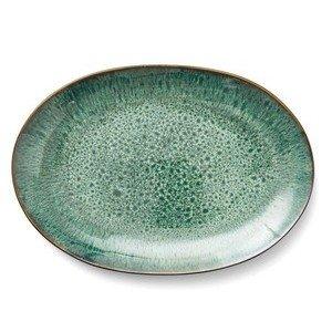 Platte 36x25 cm grün Bitz