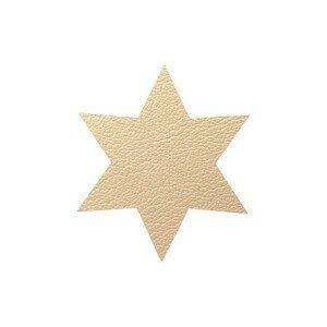 Untersetzer Stern Star Hippo Gold LINDDNA