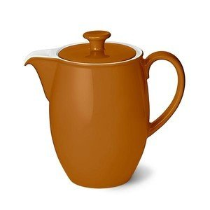 Kaffeekanne 1,25 ltr. Solid Color karamell Dibbern