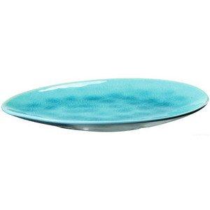 Mini Desserteller Turquoise Craquele 11,9x9,3cm ASA