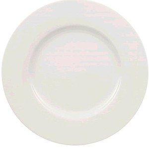 Speiseteller 27cm Wonderful White=Twist White Villeroy & Boch