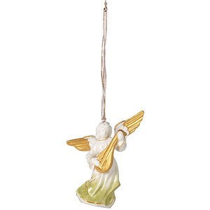 Ornament Engel mit Laute 11,9 cm Christmas Angels Villeroy & Boch