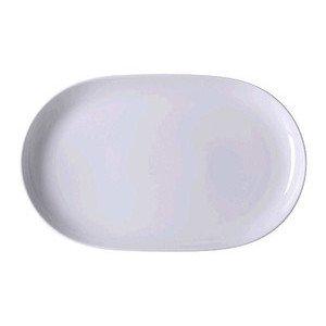 Platte 36 cm oval Form 1382 Weiss Arzberg