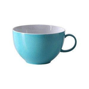"Jumbo-Obertasse 450 ml rund ""Sunny Day Turquoise"" turquois Thomas"