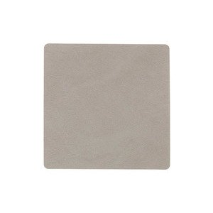 10x10 cm Untersetzer Square light grey/Nupo LINDDNA