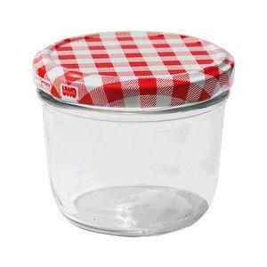 Sturzglas 230ml 6er-Pack mit Deckel Uwo