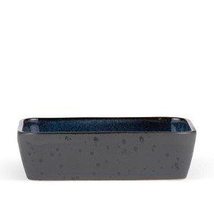 Auflaufform 30x17 cm schwarz/dunkelblau Bitz