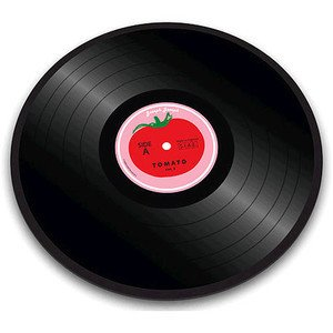 Glasplatte Tomate Vinyl Joseph Joseph