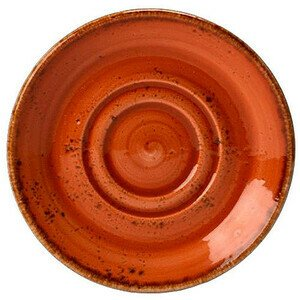 Untertasse 14,5cm zu 22,8cl+34cl 1133 Craft Terracotta Steelite