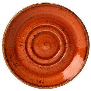 Untertasse 14,5cm zu 22,8cl+34cl 1133 Craft Terracotta Steelite