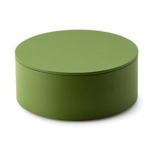 Aufbewahrungsdose Durchmesser 19cm grün Continenta