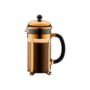 Kaffeebereiter Chambord 1l 8 Tassen Kupfer Bodum