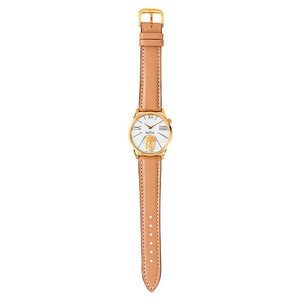 Damen-Armbanduhr 3039 RockSkull gold-gold-brown Rosenthal