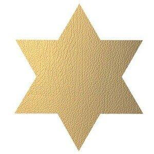 Tischset Stern Star Hippo Gold LINDDNA