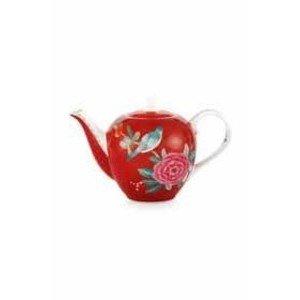 Teekanne 0,75ltr. Blushing Birds red PiP Studio