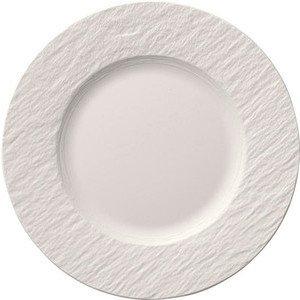 Frühstücksteller Manufacture Rock Blanc, Ø 22 cm Villeroy & Boch