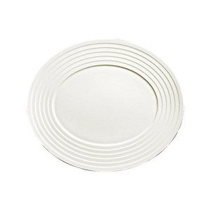 Platte oval 34 cm Bone China Relief Dibbern