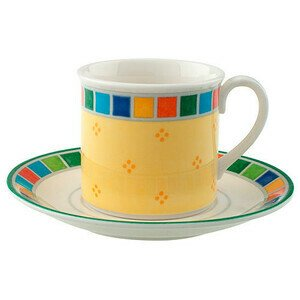 Mokka-/Espressotasse m.U.2tlg. Twist Alea Limone Villeroy & Boch