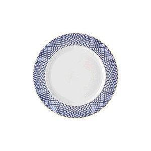 Frühstücksteller 22 cm Francis Carreau Bleu Rosenthal