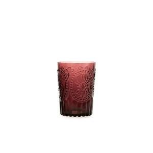 Wasserglas L Fleur de Lys Purple Van Verre
