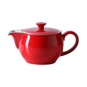 Teekanne 0,8 l Solid Color signalrot Dibbern