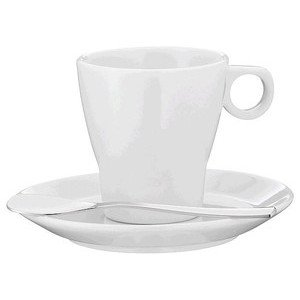 Espressotasse mit Löffel und Unterteller 60 ml WMF