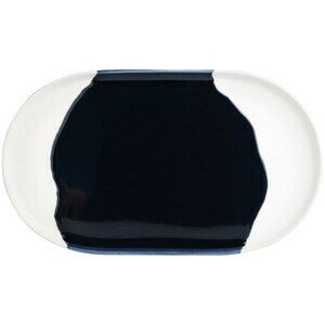Tablett 20x17,5x1,5 cm Mach mal blau Räder