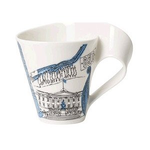 Becher m. Henkel 0,3 l Oslo Cities of the World Mug Villeroy & Boch