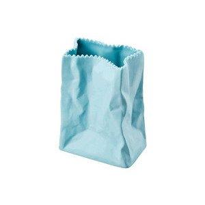 Vase 10 cm Tütenvase azur Rosenthal