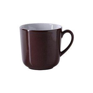 Becher m.H. 0,32 ltr. Solid Color kaffeebraun Dibbern