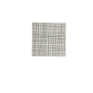 Teller quadr. 17 cm flach Mesh Line Forest Rosenthal