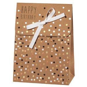 Geschenktasche P&P Happy Birthday groß Räder