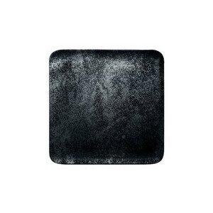 Teller quadr. 27x27x1,7cm Fusion Karbon schwarz RAK