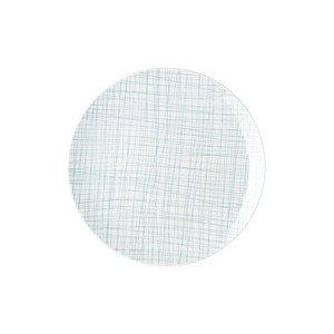 Teller flach 27 cm Mesh Line Aqua Rosenthal