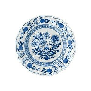 Frühstücksteller 19cm Fahne Zwiebelmuster blau Hutschenreuther
